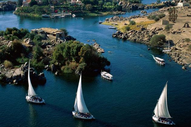 معلومات عن نهر النيل - سناكس زونز